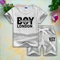 BOY Kids Sets 1- 7T 8 Colors Kids T- shirt And Short Pants 2Pc...