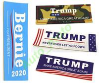 Yeni Varış Trump 2020 Yüz Araba Tren Çıkartmalar 10 * 3,5 cm Komik Tampon Sticker Bayrak Çıkartması Araba Styling Araç Paster Yenilik Ürünleri Bernie