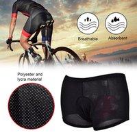 Rahat Bisiklet İç Sünger Jel 3D Yastıklı Bisiklet Kısa Pantolon Unisex Kadın Erkek Bisiklet Şort Açık eğitim şort