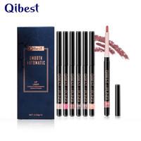 QIBEST 새로운 립 라이너 펜 12 색 / 방수 전문 Lipliner 메이크업 방수 립 라이너 연필 세트
