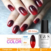 Art Nail Art Mood Changing Color Gel Nail Polish 8ml 205 Col...