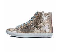 الأحذية الساخنة الذهبي الكلاسيكية الأبيض القيام القديم الأحذية القذرة أحذية رياضية سوبر ستار الرياضة منصة عارضة الأحذية الجلدية الصلبة الألوان اللباس الحذاء