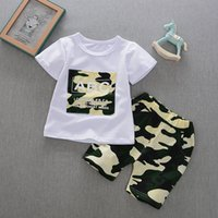 good quality boys clothing sets kids clothes summer children...