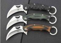 faca Ninja Deus garra 8Cr13Mov G10 karambit garra exterior Caça Faca Camping Survival faca ADRU