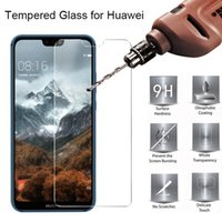 500pcs Mobile Phone Tempered Glass For Huawei P10 P20 P30 P30 P40 Lite E P Smart Pro Plus Screen Protector DHL Free