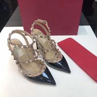 Tasarımcısı Ayakkabı sneakers Yani Kate Stilleri Yüksek Topuklu Kırmızı Dipleri Topuklu 9.5 CM Hakiki Deri Noktası Toe Pompalar Kauçuk boyutu 35-42 WithBox