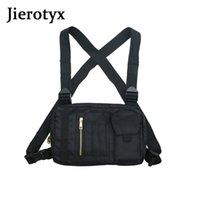 JIEROTYX функциональная поясная сумка грудь Буровая сумка мода старинные лоскутные поясные сумки противоугонный дизайн тактический жилет сумки 2020 новый