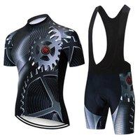 2020 yeni TELEYI Pro Cycling Jersey Seti Maillot Ropa Ciclismo Yarışı Bisiklet Giyim Man Dağ Bisikleti Giyim Bisiklet Takımı
