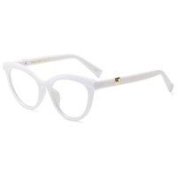 Marco SOZOTU óptico del ojo de gato marco de las lentes de las mujeres Miopía ordenador Glasseens espectáculo Mujer Oculos Gafas YQ412