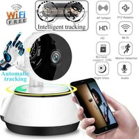 2020 Novo Ultra HD WIFI WIFI IP CCTV Câmera Smart Home Security Night Vision Indoor Watcher Artefato Câmera Sem Fio Home Monitor Inteligente