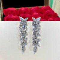Luxury Earrings jewelry S925 sterling silver Small round dia...