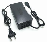 리튬 이온 충전기 84V 2.5A 2A 1A Batteies Chargeur 더미 72V 자동차 배터리 충전기 전기 자전거 전원 전기 공구