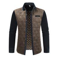 Мужские куртки бренда и пальто пэчворк планки дизайнерский флис мужская верхняя одежда зимнее пальто мода весенняя мужская одежда