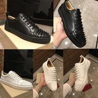 0fc6f7e444f113 Hochwertige Herrenmode Marke Luxus Sneakers Schuh Luxus Herrenschuhe Der  ursprüngliche Designer perfekte Erholung Rote Sohle Freizeitschuhe