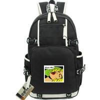 Groan sırt çantası Bas bana kelimeler gün paketi Madbello yıldız okul çantası Bilgisayar packsack Kaliteli sırt çantası Spor schoolbag Açık sırt çantası