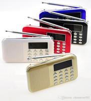 FM AM Radio-Stereo-Lautsprecher MP3-Player Tragbare Mini-Lautsprecher Doppellautsprecher mit TF-Karte USB-AUX-Eingang gute Qualität
