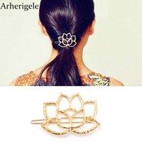 Arherigele 5 шт. мода металлические полые заколки для волос Для женщин аксессуары для волос ретро цветок заколки головные уборы инструменты для укладки заколка