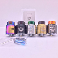 Tengu BF RDA 24mm with Unique Deck for Dual Coil Building Ho...