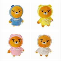 New 4pcs kakao Friends Ryan Keychain Plush Doll Stuffed Pend...