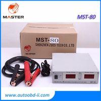 Profesyonel MST80 110V / 220V Otomatik Voltaj Regulatorbattery şarj 14V / 100A MST80 + İçin GT1 / OPS / ICOM ECU Kodlama programcı
