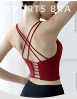 Women Sports Bra Sexy Mesh Brathable Sports Top Push Up Fema...