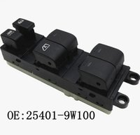Nouveau 25401-9W100 côté conducteur Power Master Fenêtre Commutateur 254019W100 Pour 05-08 N Issan Pathfinder 4.0L 5.6L 25401-ZP40B Commutateurs de voiture