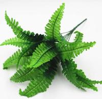 2020 زفاف الديكور محاكاة زهرة نبات الجدار الأخضر نبات الجدار مطابقة المواد سرخس محاكاة الفارسي ورقة العشب الفارسي W1200