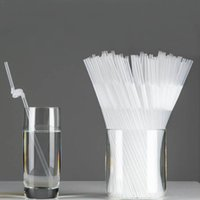 1 package Transparent Clean Drinking Straws Wedding Flexible...