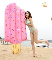 Inflatable Popsicle Water Game Toy Kickboard Floating Ice- cr...
