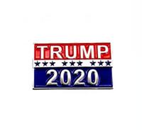 أزرار دونالد ترامب دبابيس 2020 مؤيد الرئيس الانتخابات شارة أمريكا حملة هدية لوازم الزينة عناصر الجدة DDA58