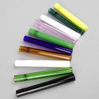 4inch billigast glas cigarettbad One Hitter Pipe Clear Glass för rökning Tobakshandledningar Hookah Tillbehör