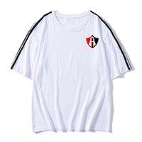 Club Atlas-Männer-Fußball-Fußball-T-Shirt für Erwachsene Kurzarm Fußball-Trikots und wiesen Freizeit Marken-Fußball-T-Shirt Männer-T-Shirts