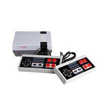 Mini Game Anniversary Edition Home Entertainment-System TV Video Handspiel-Konsole NES 620 in 8 Bit-Spielen mit Dual-Gamepads