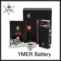2019 Authentic YMER Battery Vape Mods 650mAh VW 20W Preheati...