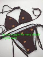 Sexy Drei-Punkt-Badeanzüge für Frauen Hohe Qualität Sommer Zweiteilige Bikinianzüge Set Strand Mode Badeanzüge Swimwear Kleidung Größe S-XL