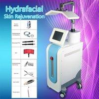 고강도! Hydrafacial PDT 바이오 라이트 치료 피부 젊 어 짐 주름 제거 피부 페이셜 케어 Hydradermabrasion 스파 기계 CE / DHL