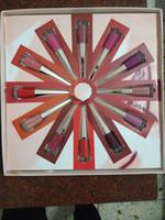 Rihanna блеск для губ набор 12 В 1 Лоб Gloss набор губной помады коллекция помад LipGloss setlip glosslipstick в наличии