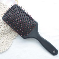 Professional Healthy Paddle Cushion Hair Loss Massage Brush ...