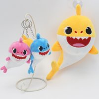 20cm baby shark hanging keychain accessories Pendant toy car...
