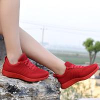 Sagace Осенние Обувь Женщина Летающие тканые Повседневная Обувь Конфеты Цвет Студент Беговые Обувь Женщины
