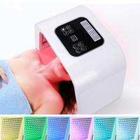 7 ألوان PDF أدى ضوء العلاج LED قناع تجديد الجلد فوتون جهاز سبا الأحمر بقيادة ضوء المعامله