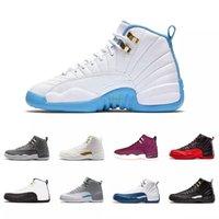 Новый релиз 12 Black игры Royal баскетбол обувь 130690-014 Мужские спортивные туфли кроссовки Синий Черный Белый