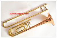 USA Staaten Tenor Posaune Bach 56BO Phosphor Bronze Kupfer Tenorposaune Tune B bis F professionelle Musizierenden frei shiping