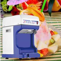 Elektrikli Buz Kırıcı Makinesi Tıraş Makinesi Tıraş Buzlu Kar Koni Makinesi Paslanmaz Çelik Bıçak Elektrikli Buz Tıraş Makinesi