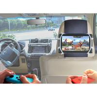Volver sostenedor del asiento de coche de Silicon TFY cabeza del coche de montaje para el interruptor de la máquina de juego y 7 -10 pulgadas tabletas -Blanco