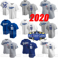 18 Dustin May 2020 All Star Game 50 Mookie Betts Max Muncy Jersey Joc Pederson Cody Bellinger Will Smith Turner Hernandez Clayton Kershaw