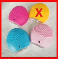 New cleansing instrument Facial Cleansing Brush Sonic Cleans...