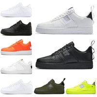 Newest Utility one 1 Triple Black White Casual Shoes for Men...