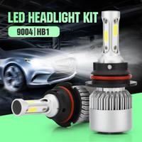 1 par S2 Auto Car H4 H11 H7 H1 9005 9006 faróis LED 72W 6500K 8000LM COB Auto LED Bulbos 12V 24V