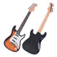 Spielbar Kinder E-Gitarre Spielzeug Simulator Instrument sechs-saitige Gitarre Anfänger Kinder Geschenk-Box-Verpackung